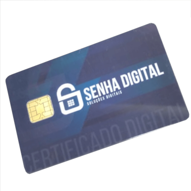 Certificado Digital em formato de Cartão